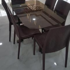 Hanging Chair Lahore Kitchen Table And Chairs Argos Outdoor Furniture Online In Pakistan Daraz Pk Pack Of 6 Plastic Brown With Mirror