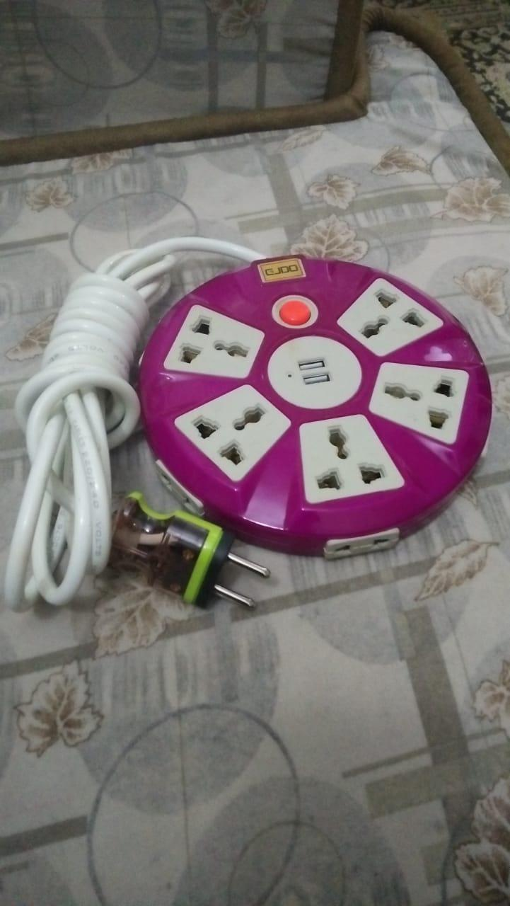 hight resolution of power extension 5 power 5 light and 2 usb support with 3 meter 40