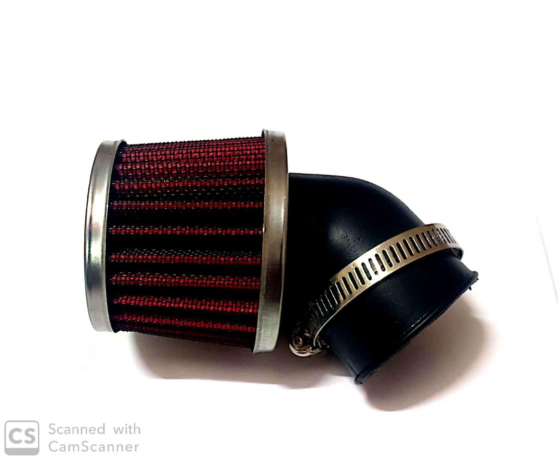 hight resolution of air filter for 70cc motorcycle 35mm