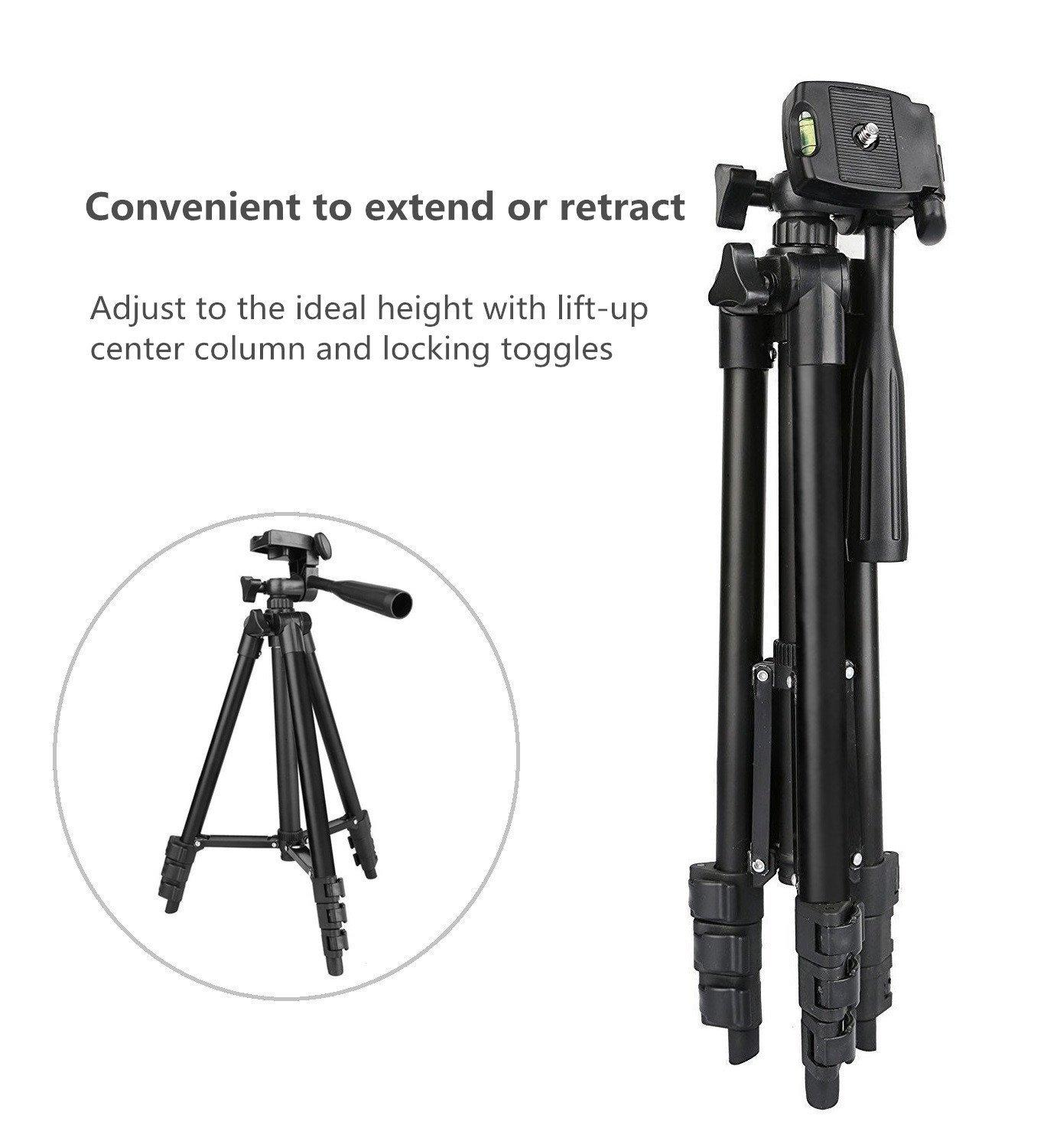 Tripod 3120 Mobile & Portable Camera Tripod with 3