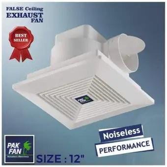 pak fan false ceiling exhaust fan 12 inches