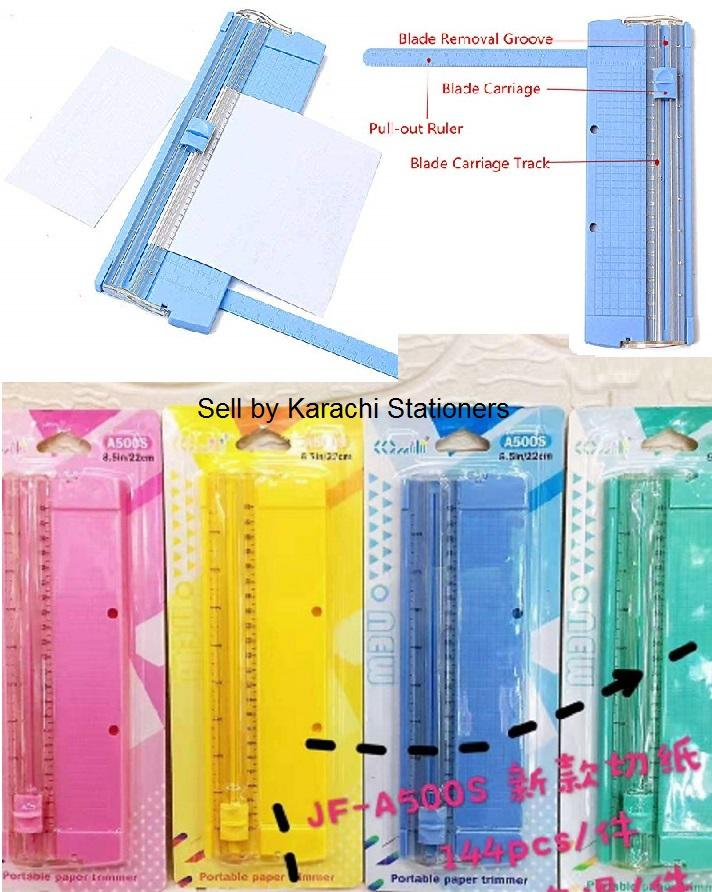 Portable Paper Cutter : portable, paper, cutter, A500S, A4/A5, Portable, Paper, Trimmer, Scrapbooking, Machine, Precision, Photo, Cutting, Rotary, Cutter, Ruler, Guillotine, Online, Prices, Pakistan, Daraz.pk