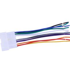 product details of car stereo cd player wiring harness wire aftermarket radio install plug [ 1001 x 1001 Pixel ]
