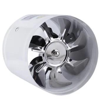 4 inch inline duct fan air ventilator metal pipe ventilation exhaust fan mini extractor bathroom tet wall fan duct fan accessories 220v white
