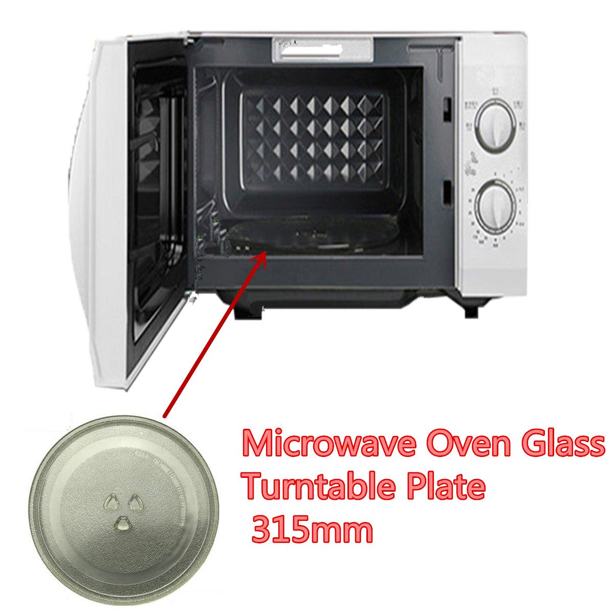 1pc microwave oven turntable glass tray glass plate accessories diameter