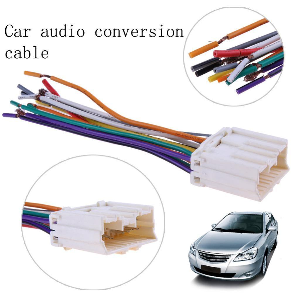 medium resolution of product details of vktech car stereo cd player wiring harness radio wire plug for mitsubishi joyear