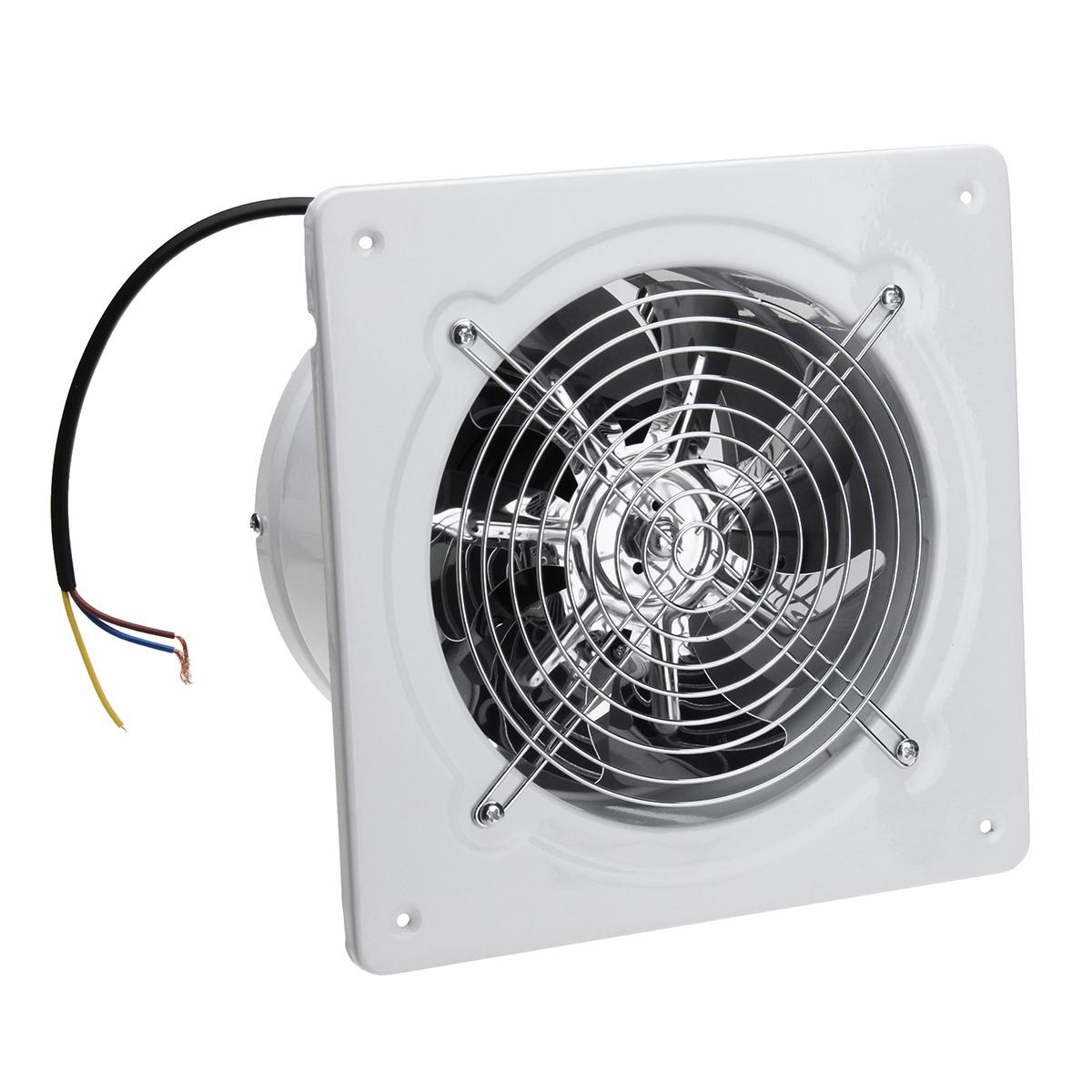 4 inch 20w 220v high speed exhaust fan toilet kitchen bathroom hanging wall window glass small ventilator extractor exhaust fans