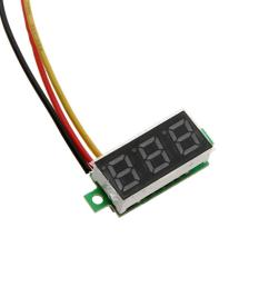 2 yellow 3 green 4 blue 5 white product size 23 x 10 x 8mm 0 91 x 0 39 x 0 31 net weight 5g included 1 x dc voltmeter led panel meter [ 1001 x 1001 Pixel ]