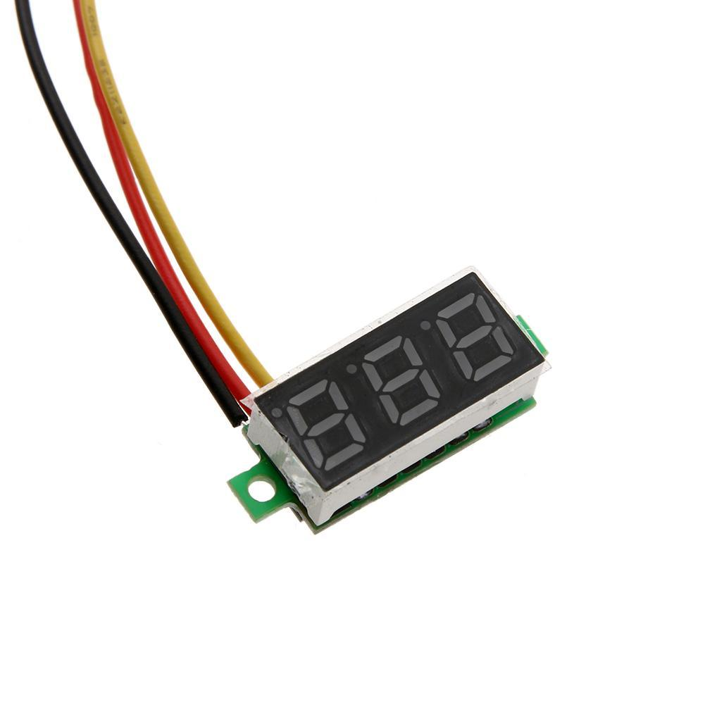 hight resolution of  2 yellow 3 green 4 blue 5 white product size 23 x 10 x 8mm 0 91 x 0 39 x 0 31 net weight 5g included 1 x dc voltmeter led panel meter
