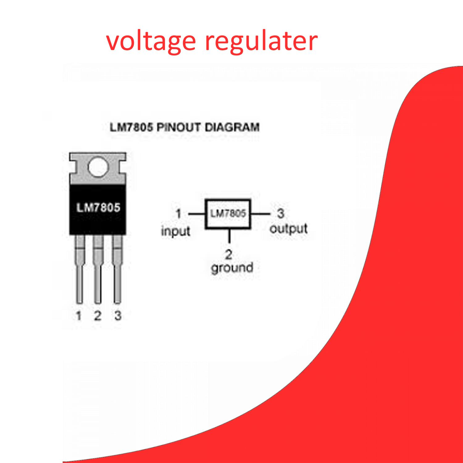 hight resolution of product details of pack of 5 voltage regulator 7805 5v ic integrated circuit orignal quality