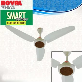 royal fans ac dc ceiling fan remote control copper winding 56 inches