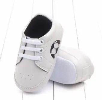 White Leather Non Slip Shoes