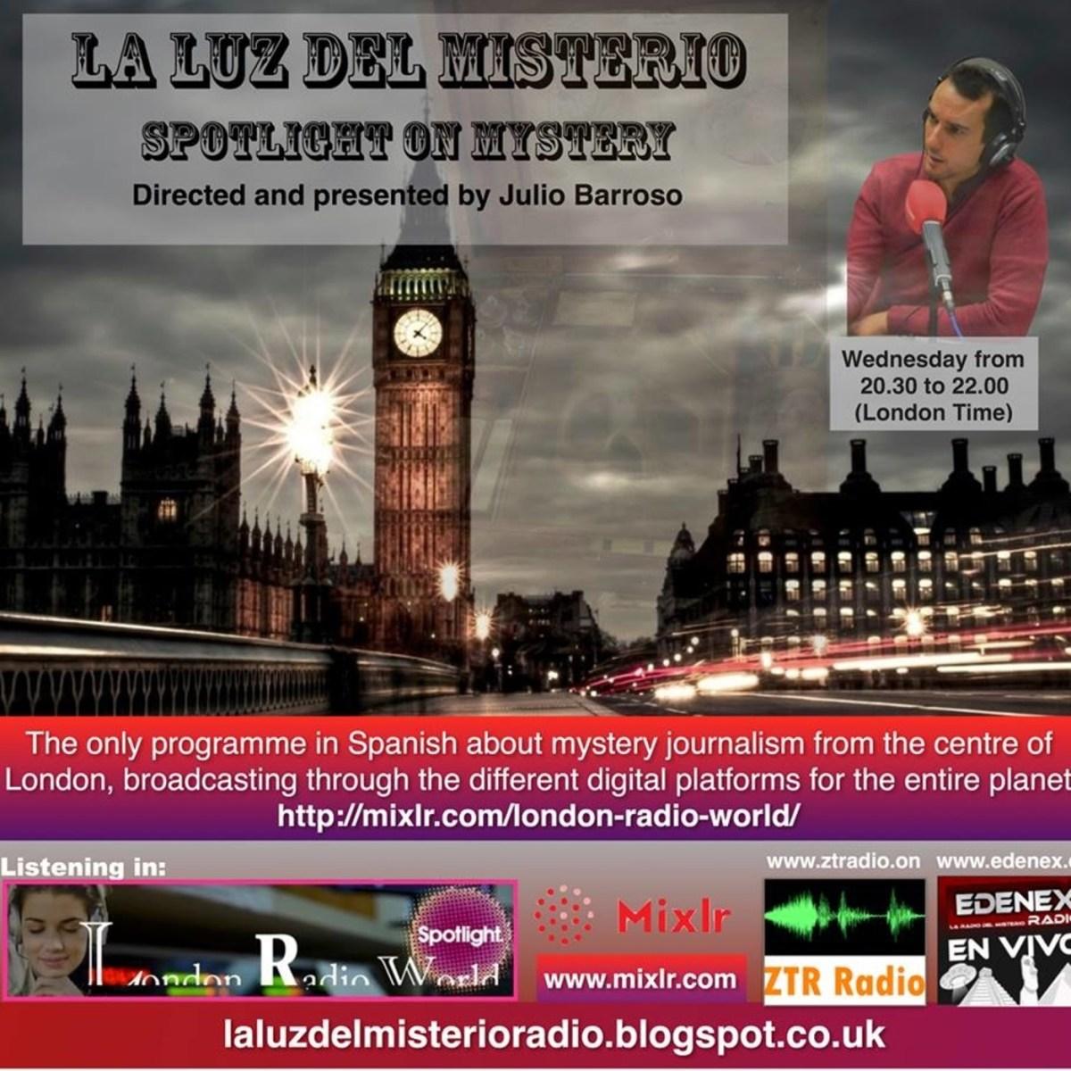 Podcast LA LUZ DEL MISTERIO CON JULIO BARROSO