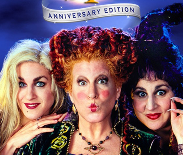 Hocus Pocus Coming To Big Screen To Celebrate 25th Anniversary Wset