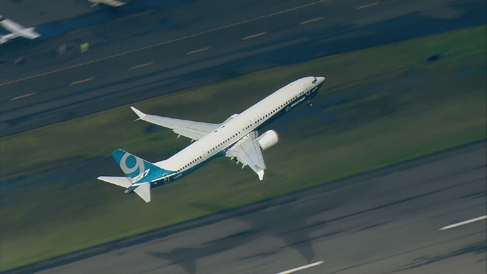 Image result for 737 MAX 9 first flight