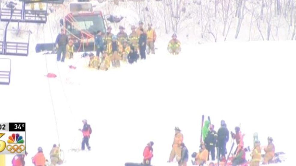ski chair lift malfunction baby bouncy asda strands dozens 5 have minor injuries katu