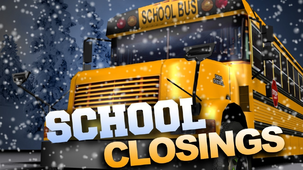 School Closings For Monday Jan 11 News Weather Sports