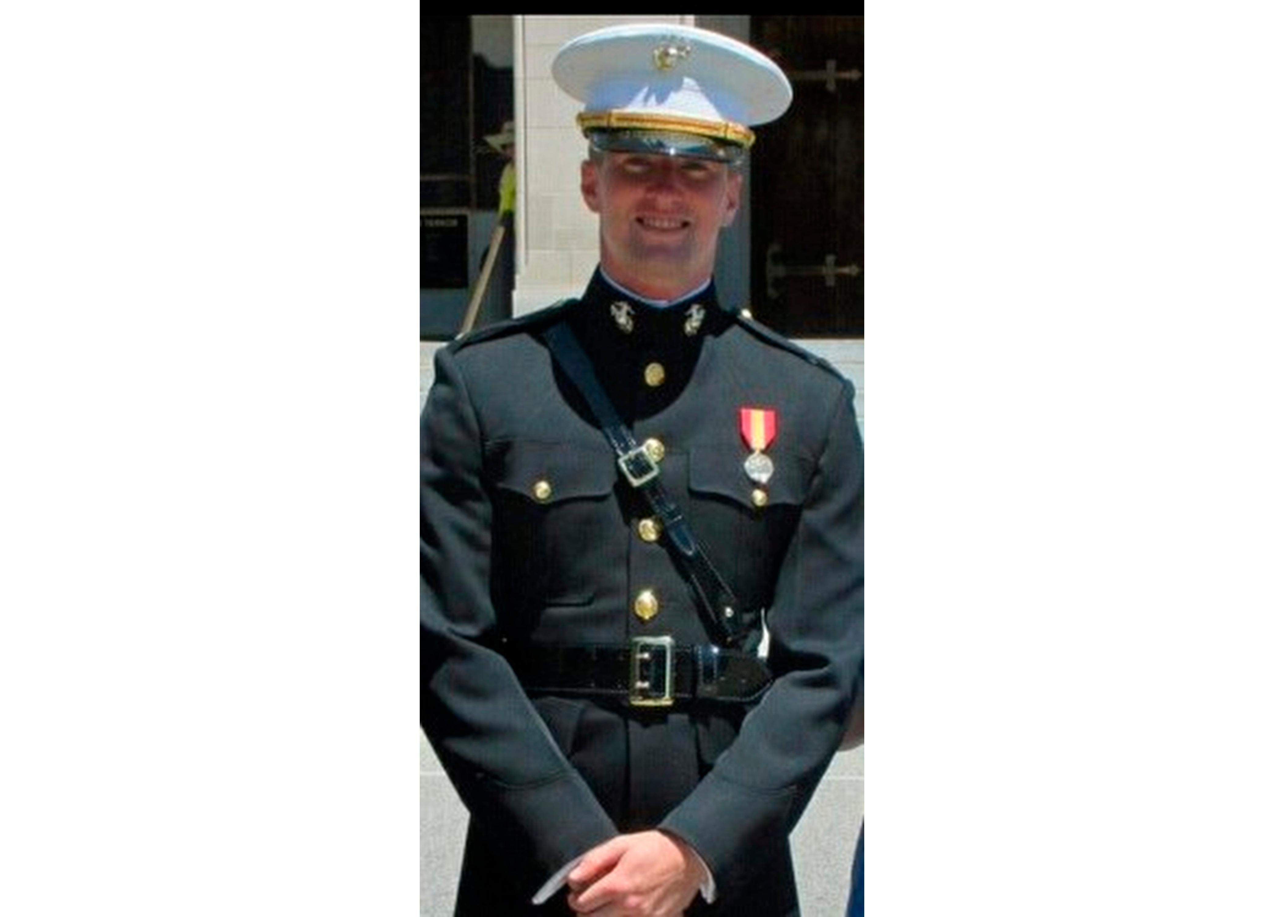 Marine Platoon Commander From D C Killed In Accident At