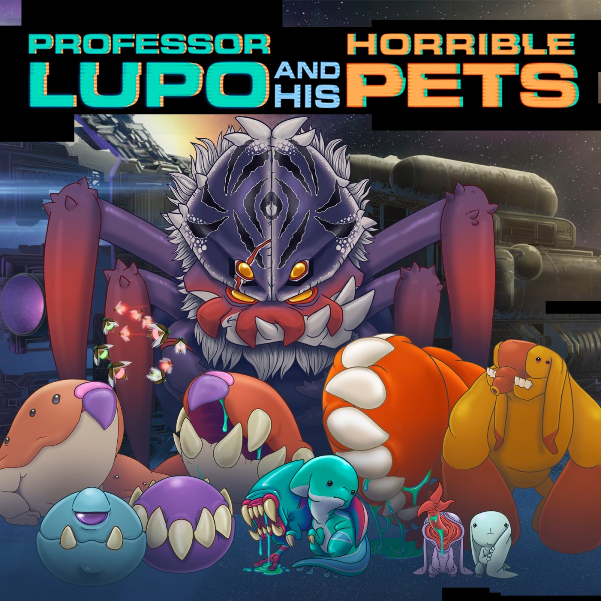 EXTRA – Entrevista: Professor Lupo and his Horrible Pets