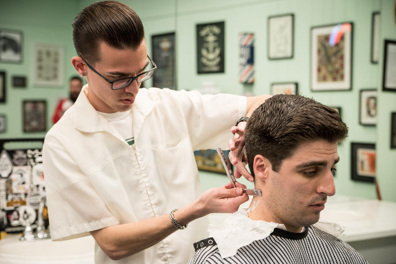 Clifton Barbers Revives The Traditional Mens Haircut