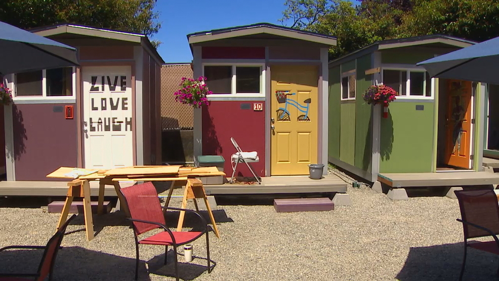 Seattle S First Tiny House Village For Homeless Women To