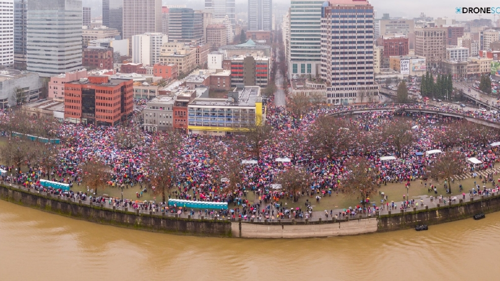 Image result for portland women's march january 2017