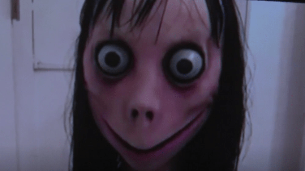 scary momo challenge takes
