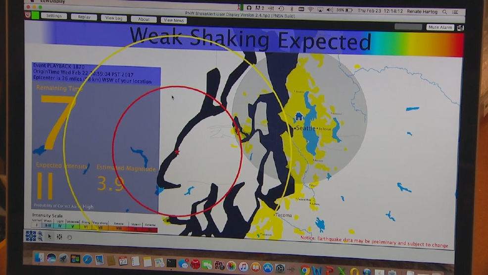 How well did the earthquake-warning system work this week? | KOMO