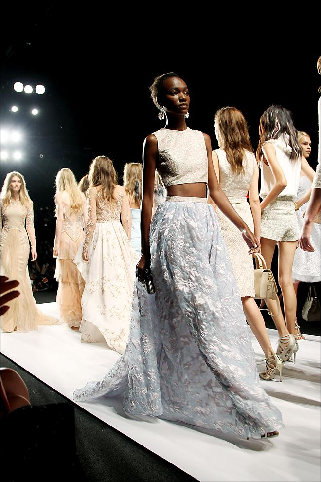 Photos Gorgeous gowns at New York Fashion Week  KBAK