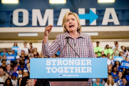 post conventions see clinton