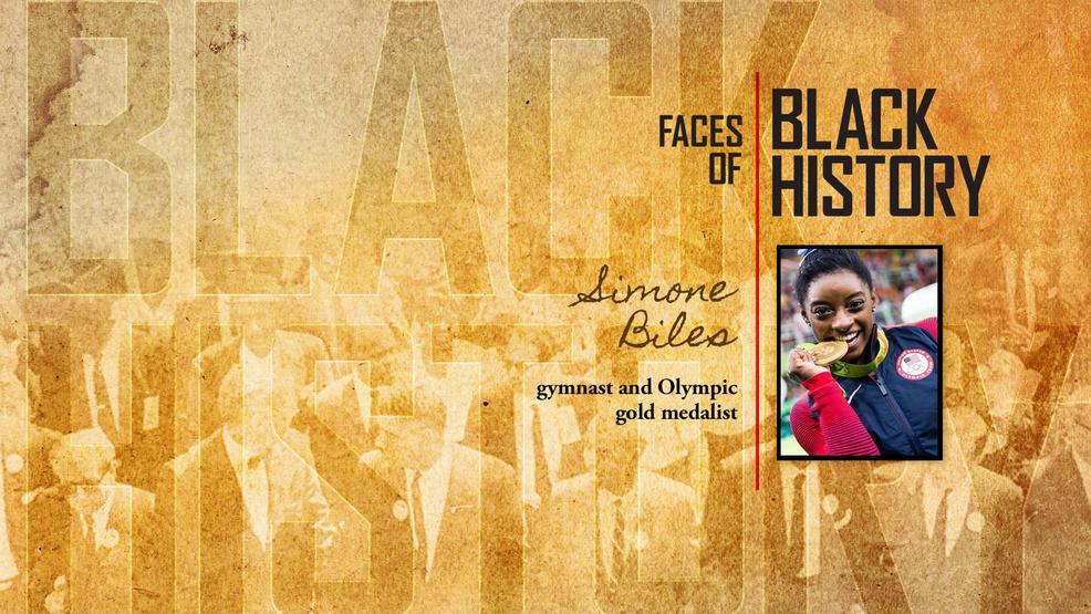 faces of black history simone biles wpec