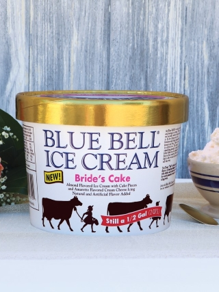 Bride's Cake Ice Cream : bride's, cream, Unveils, 'Bride's, Cake', Flavor,, Brings, Chocolate, Counterpart