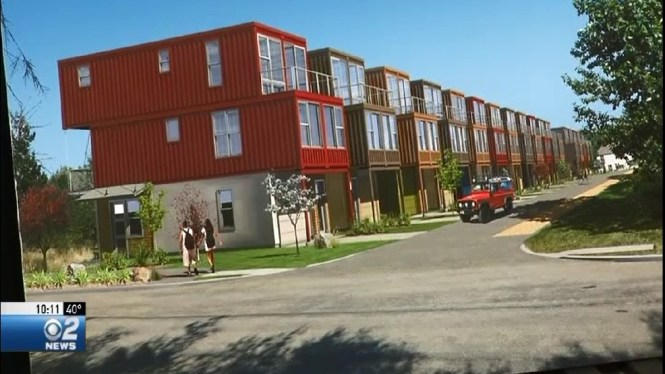 Shipping Container Home Subdivision Planned For Garden City Later This Year Kboi
