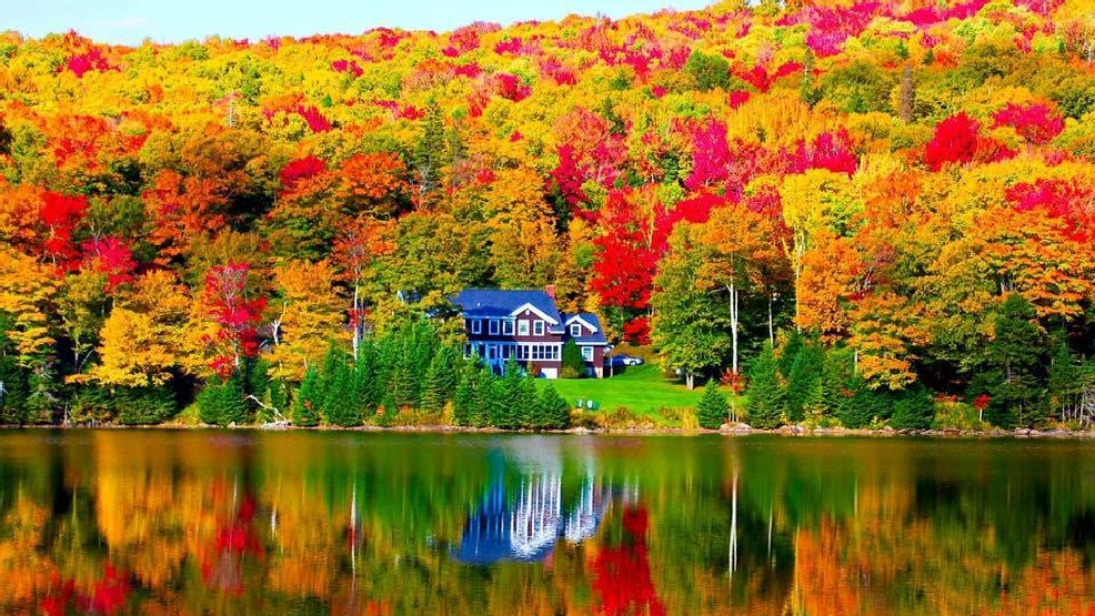 New Hampshire Fall Foliage Wallpaper Photo Gallery Fall Foliage In Maine New Hampshire Wgme