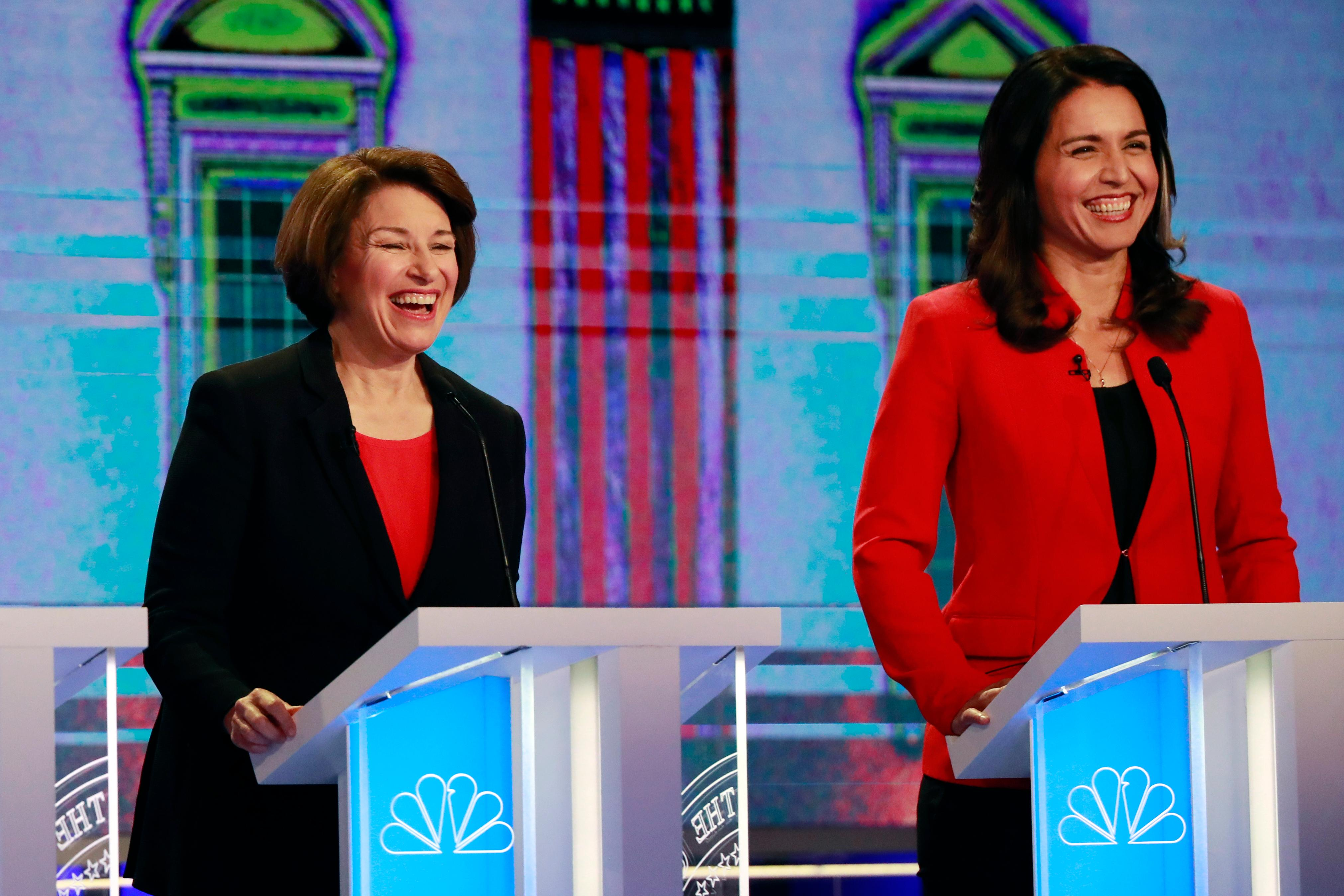 First Debate Dems Rail Against Economy For The Rich