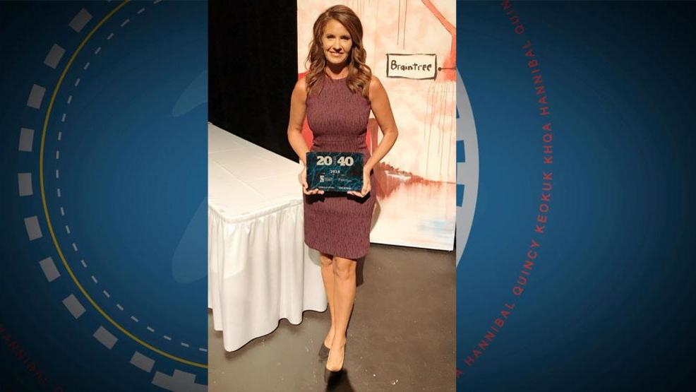 KHQAs Tegan Orpet honored among Quincys 20 Under 40