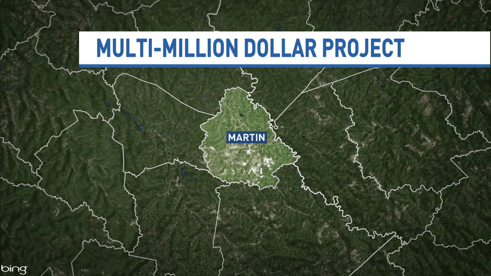 Kentucky leaders announce project to repair Martin County