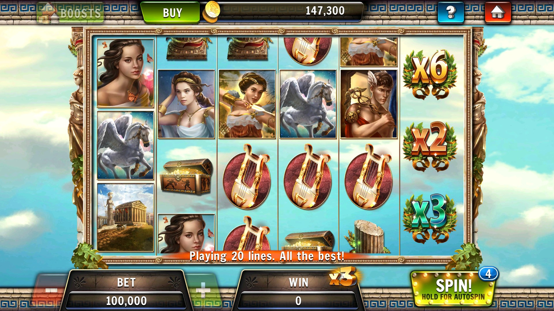Zeus Games Facebook Slot