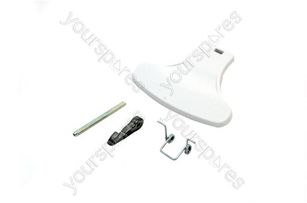 Indesit White Washing Machine Door Handle Kit C00096865 by