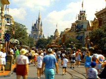 Disneyland Rolls Of Largest Ticket