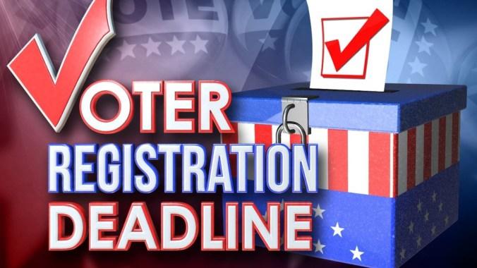 Image result for voter registration deadline