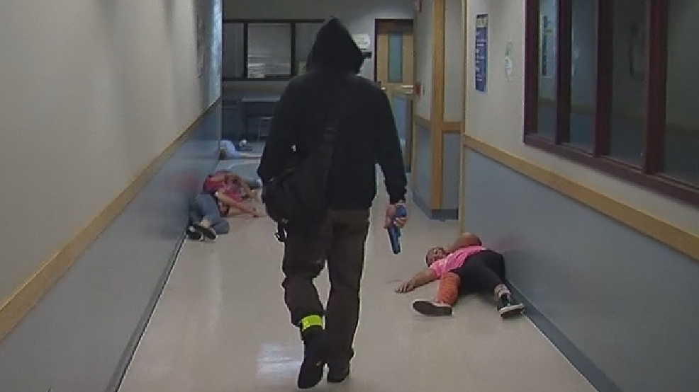 Active shooter drill at Maple Valley school all too real