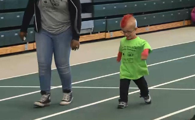 Hundreds Compete In Brockport In Games For Physically