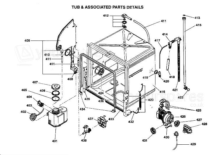 Hotpoint Dishwasher Hinge Spring C00211614 by Hotpoint