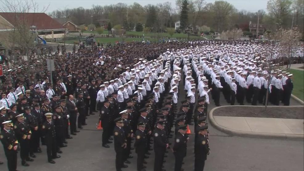 Image result for westerville funeral procession for police