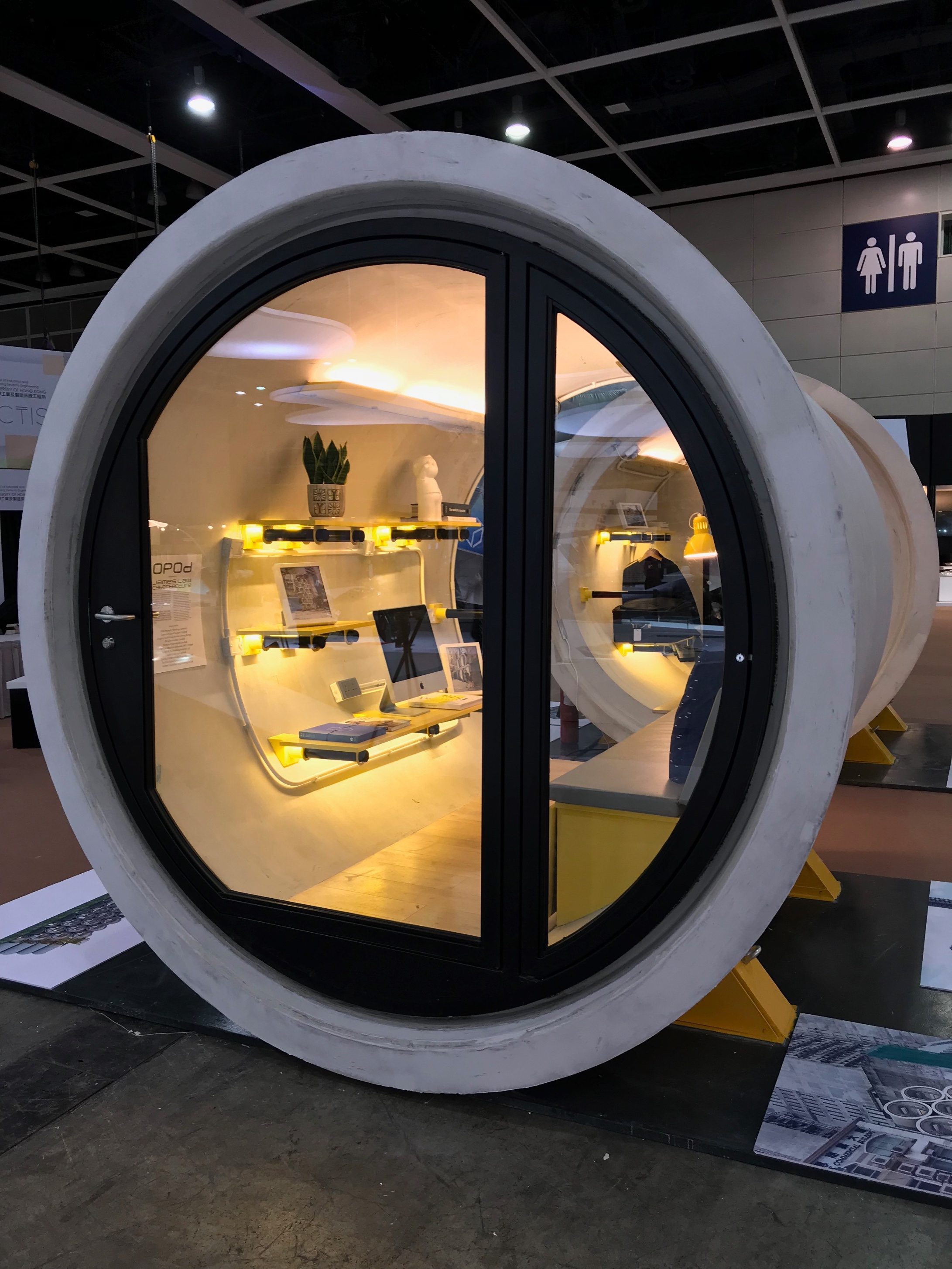 The next big thing in tiny housing Concrete pipes turned