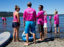 Hundreds Stand Cure Lake Sammamish