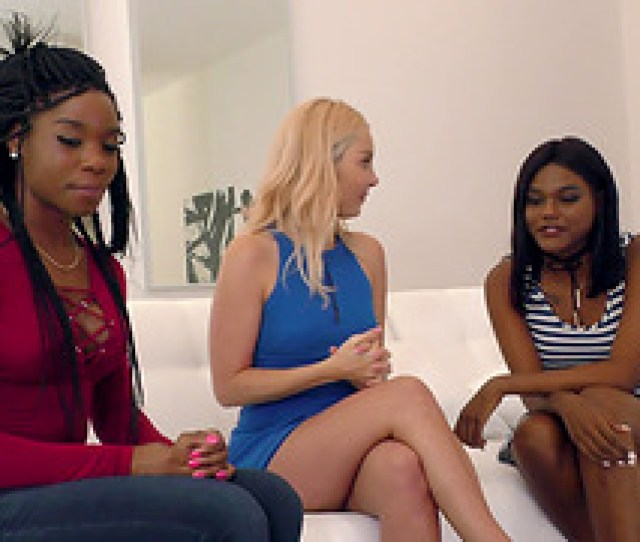 Aaliyah And Mya Have A Blast During An Interracial Lesbian Threesome