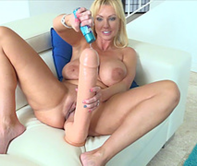 Thickest Blue Goes Straight Into Blondes Magnificent Shaved Pussy