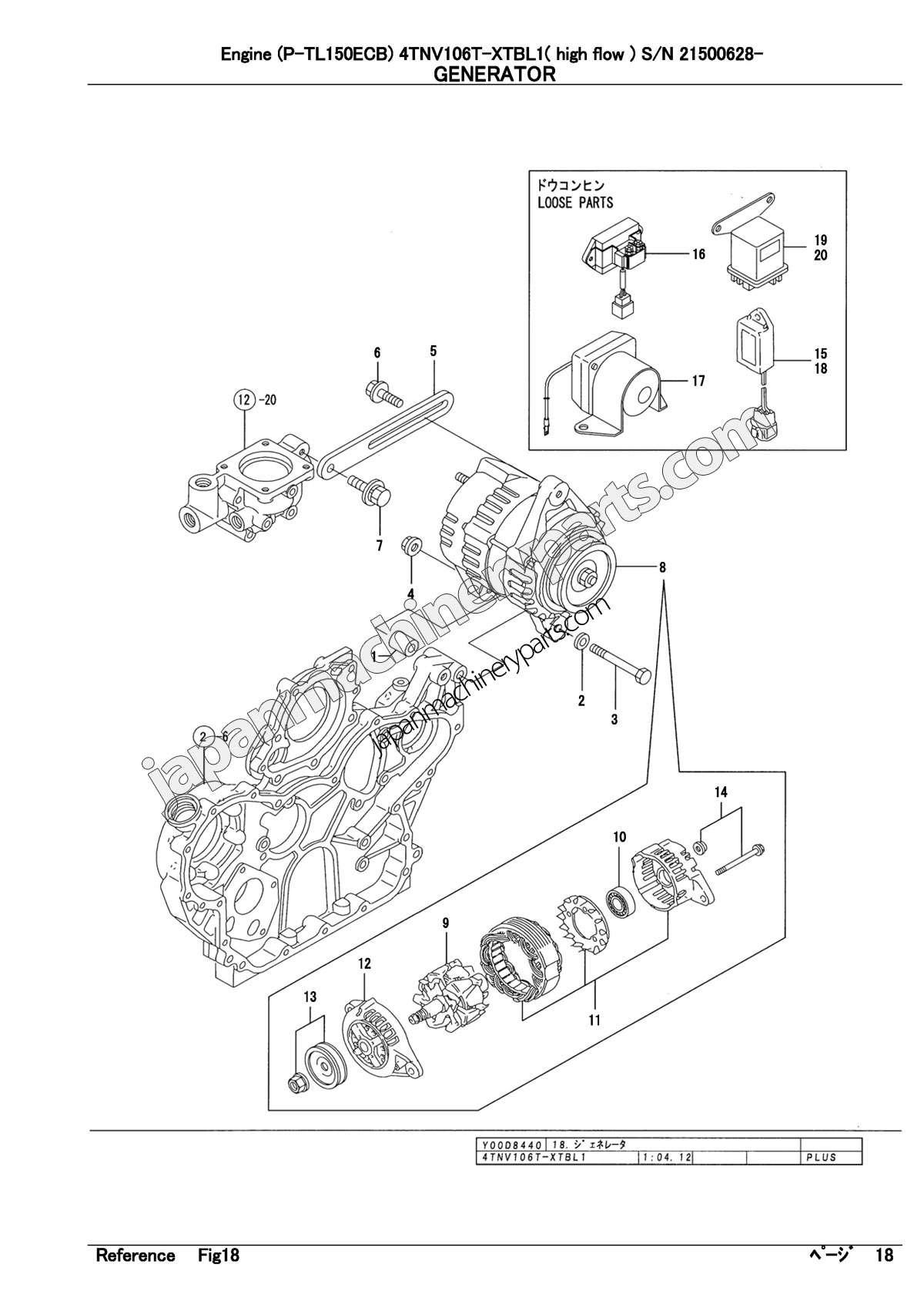 [HV_1889] Yanmar 3Tnv88 Wiring Diagram Wiring Diagram